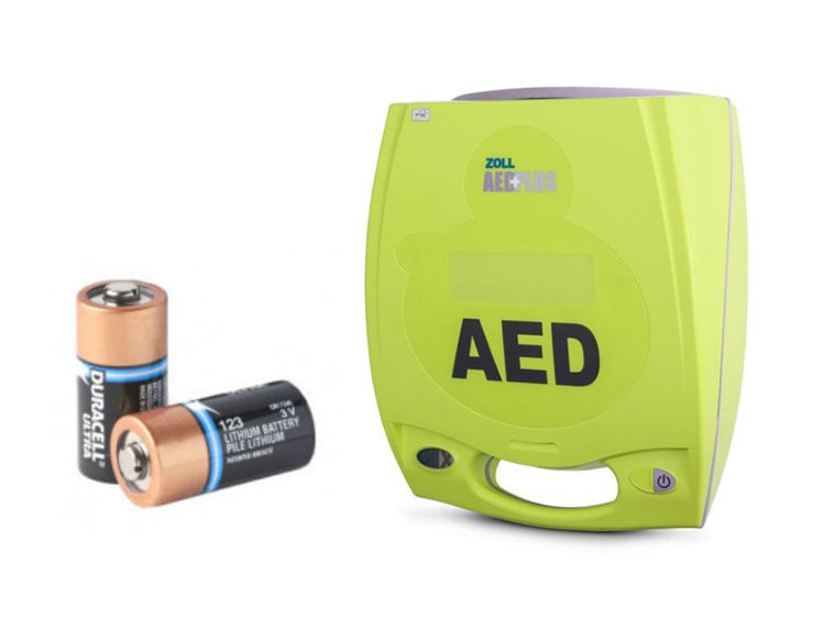 Zoll AED Plus Battery Set (pack of 10)