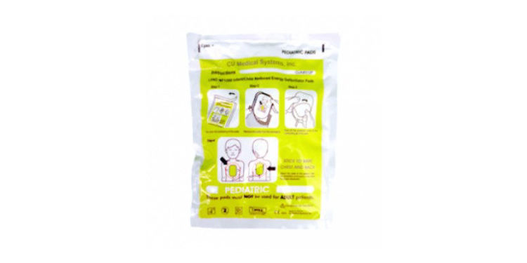 CU Medical Systems iPAD NF1200 Paediatric Electrode Pads