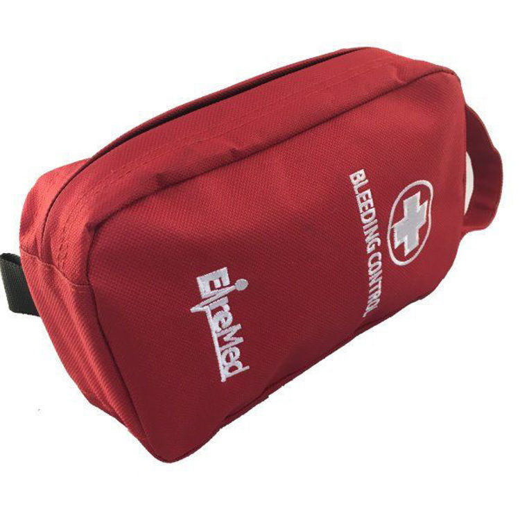 Bleeding Control Red Pouch Side