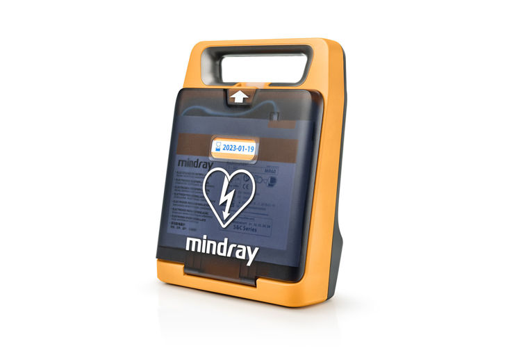 Mindray BeneHeart C2 Fully Automatic Defibrillator Side