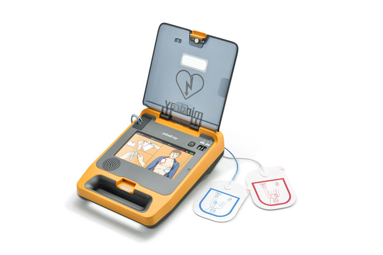 Mindray BeneHeart C2 Fully Automatic Defibrillator Open