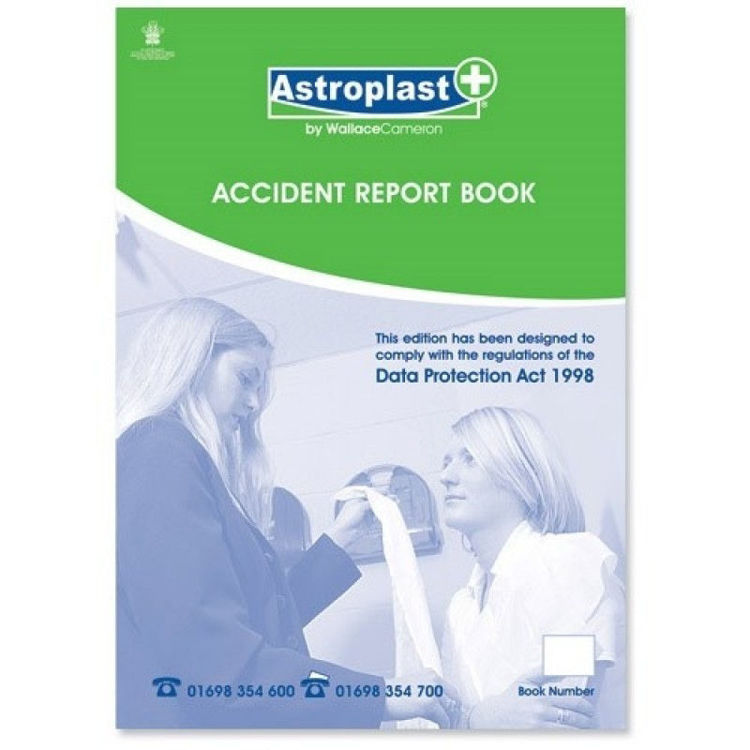 Accident Report Book A4