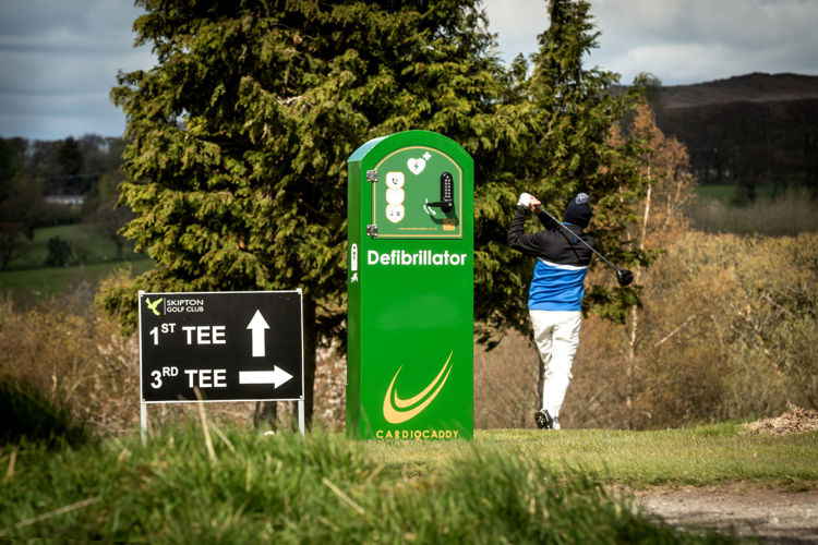 CardioCaddy Mains Powered Cabinet Golf Course