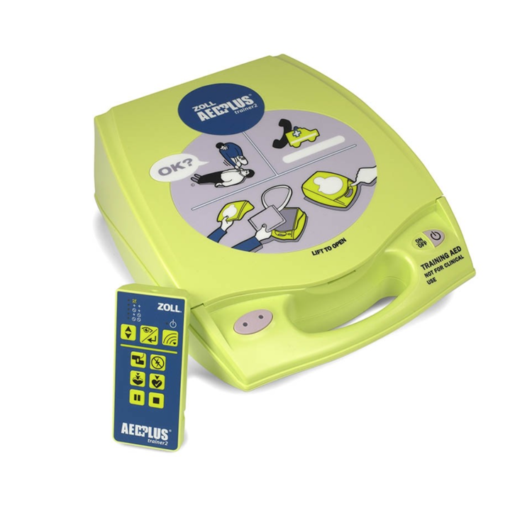 AED Plus Trainer II - Fully Auto Lay Rescuer